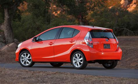 2014 Toyota Prius C One Car And Driver