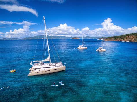 catamaran vacation bvi sailing catamaran charters