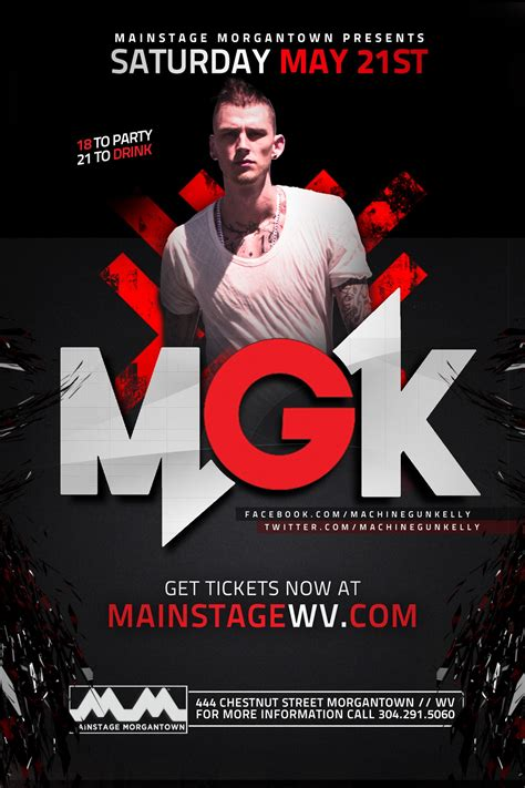 relentless tour iannis story is one of resiliency after having been sold out machine gun kelly at mainstage morgantown