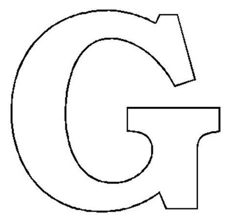 letter g template letter g clipart black and white clipartsgram