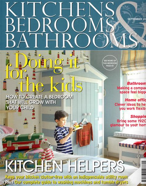 bedroom magazines kitchen bedroom bathroom magazine sept 14 cover kitmiles