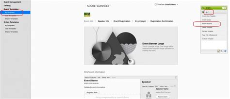 Layout E Eventtoolbox resetting your event templates from cq in adobe connect adobe connect by adobe