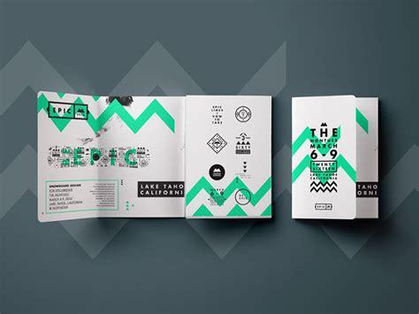 design inspiration dribbble brochure design inspiration 64 modern brochure exles