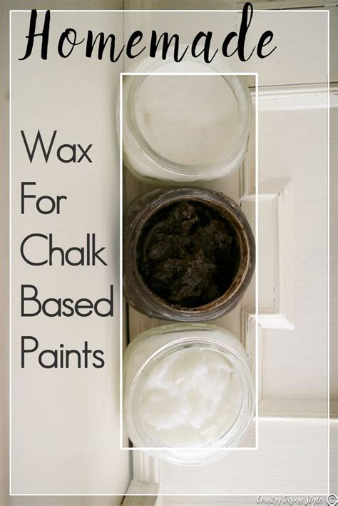 diy chalk paint paste wax best 25 wax ideas on chalk paint