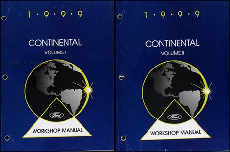 manual repair free 1999 lincoln continental auto manual 1999 lincoln continental repair shop manual original 2 volume set