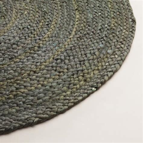 gray braided rug gray braided jute area rug world market