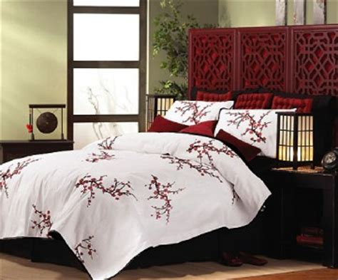 cherry blossom bedroom asian oriental cherry blossom comforter king ebay
