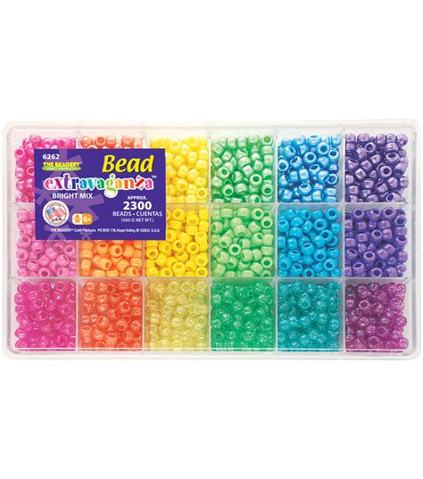 bead extravaganza bead box kit 19 75oz pkg brights jo