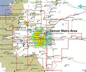 denver colorado county map denver co aerial photography 2002 mrsid