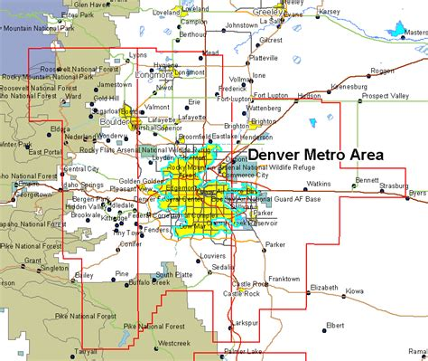 map denver colorado map denver afputra