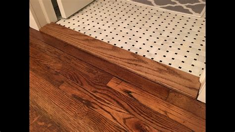 Building a Custom Floor Transition Threshold   Kraftmade
