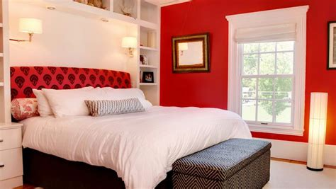 red colour in bedroom how to decorate a bedroom with red walls