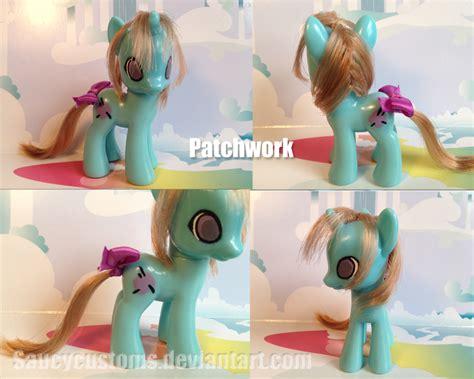 Patchwork Pony - saucycustoms s deviantart gallery