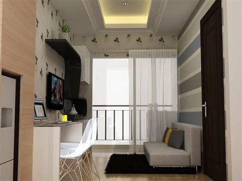 design interior apartemen 36m2 desain interior apartemen saveria youtube