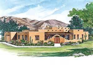Santa Fe Style Home Plans creative sante fe style home plan 81408w southwest 1st floor