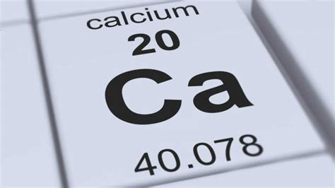 Calcium On Periodic Table by Why Do We Need Calcium Healthguru