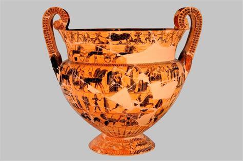 vaso di francois al museo archeologico il reperto storico vaso francois