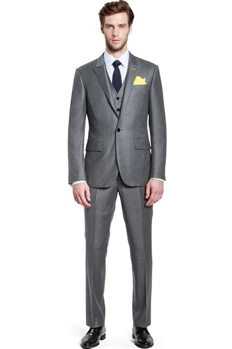 Pieces Of Three business navy blue three suit ownonly