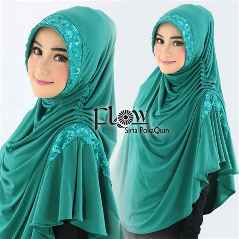 New Terbaru Hijabjilbab Sequin Pet jilbab syria pet polkaquin by flow idea jilbabbranded