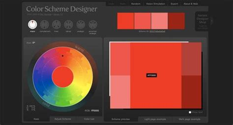 scheme color designer 25 awesome tools for choosing a website color scheme top