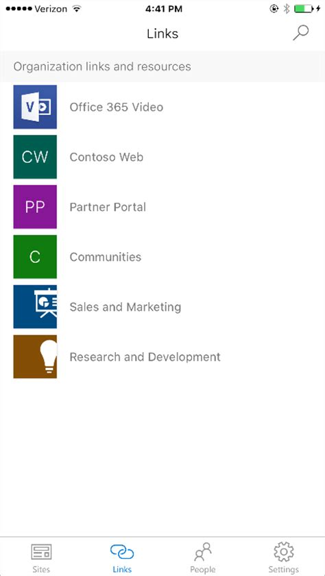 office mobile ios your intranet in your pocket the sharepoint mobile app for
