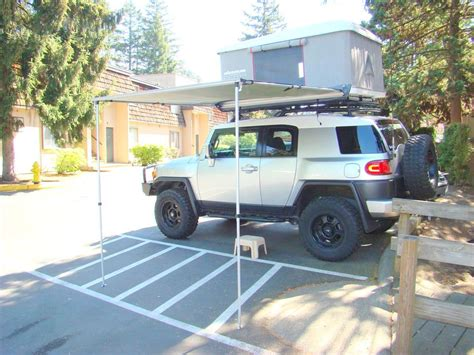 Fj Awning by Anyone With Fj Lift Pics On Quot Stock Quot 265 S Yotatech Forums