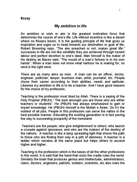 My Essay by My Ambition In Essay Essay On My Ambition In To Become A Scientist It Research Custom