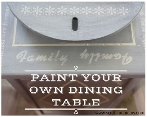 how to paint your room learn to paint your dining room table