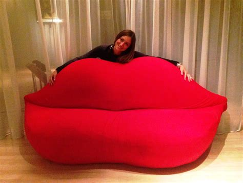 divano bocca bocca sofa by gufram lost in design