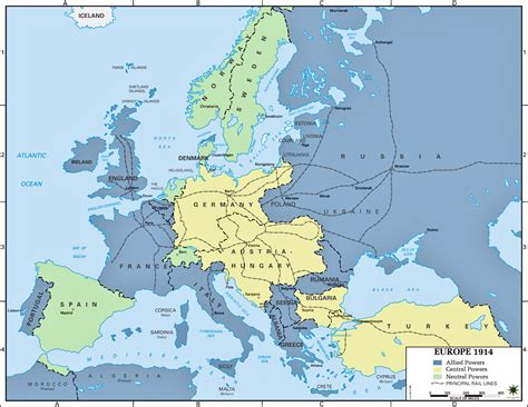 Ww1 Europe Map by Gallery For Gt World War 1 Map Of Europe 1916