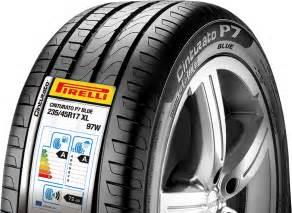 running in new car tyres eu label pirelli