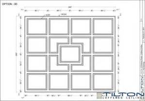 Coffered Ceiling Dimensions Coffered Ceiling Design Drawing Square Grid 15 Great