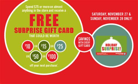 Smart Shoppers 100 Gift Card - shoppers drug mart surprise gift card when you spend 75 or more on nov 27 28