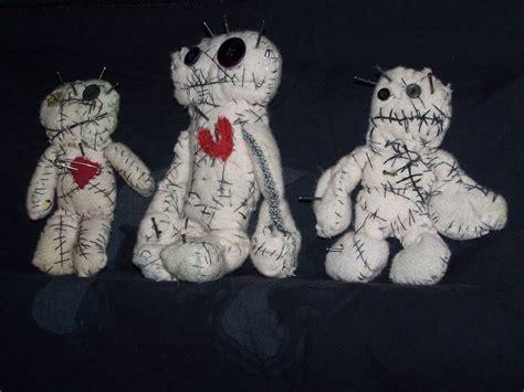 Handmade Voodoo Dolls - one of a handmade voodoo dolls by darnelious on