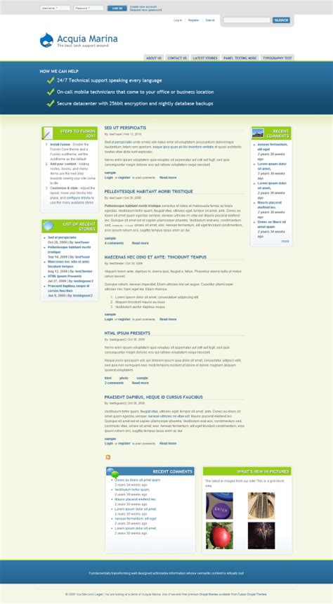drupal theme upload easy beautiful drupal themes our top 10