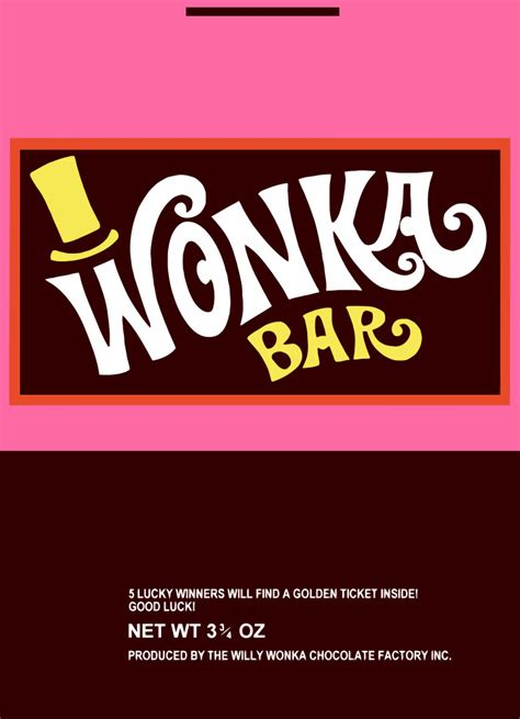 wonka template 1000 images about wonka bar on golden ticket