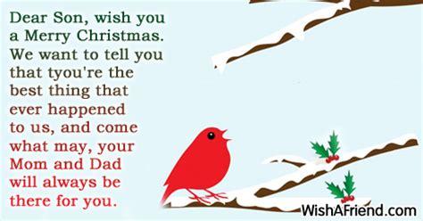 dear son    merry christmas message  son