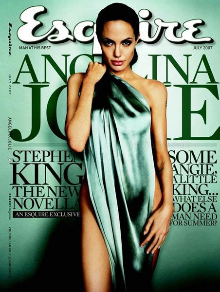 Joile In July 07 by Almost On Esquire July 2007 Cover