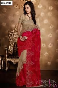 new sarees fashion femina latest indian wedding designer sarees 2016
