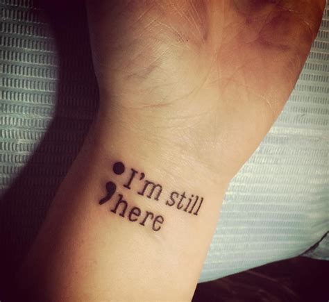 semicolon tattoo meaning 50 semicolon tattoos ideas and meaning the semicolon project