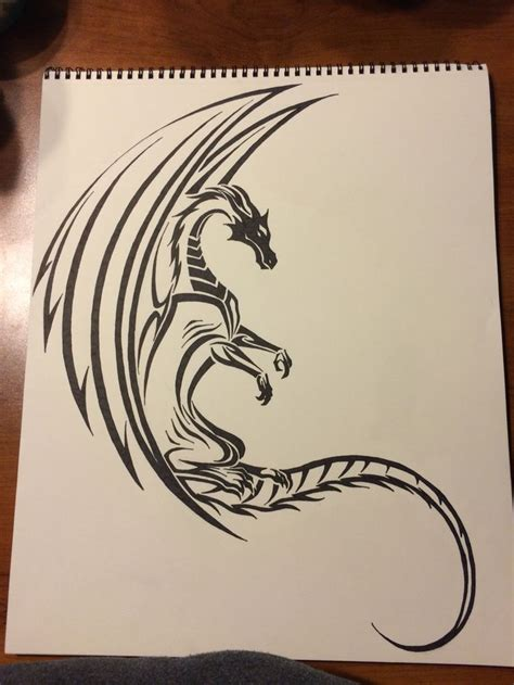 celtic tribal dragon tattoo 1000 ideas about tribal tattoos on