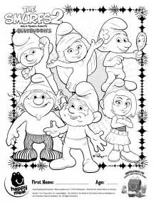 coloring pages smurfs kids coloring europe travel guides