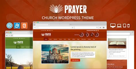 25 best church wordpress themes for churches parishes