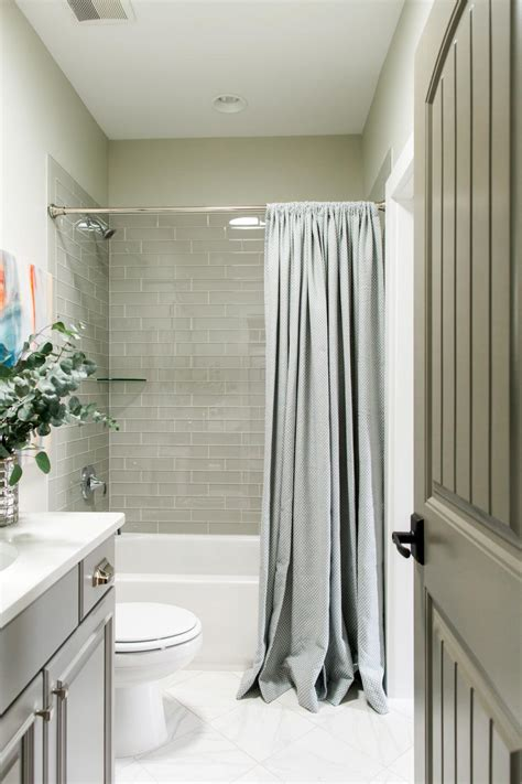 hall curtains designs pictures of the hgtv smart home 2016 hall bathroom hgtv