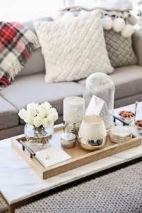 Coffee Table Tray Ideas 37 best coffee table decorating ideas and designs for 2017