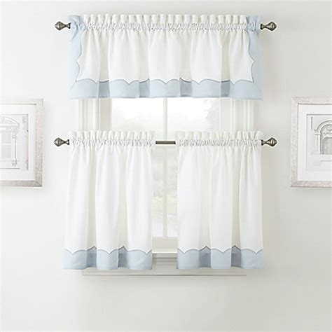 waterford curtains waterford 174 cassia window curtain tier pair and valance