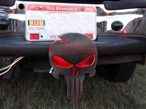 lighted hitch covers trucks trailer hitch cover search tow hitch gadgets