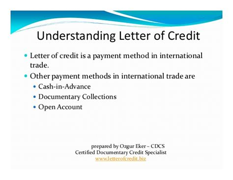 Letter Of Credit Number Meaning what is letter of credit