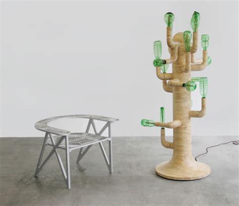 Cactus Led Light Lu Hias modernismo inspira lumin 225 rias feitas de latas e garrafas