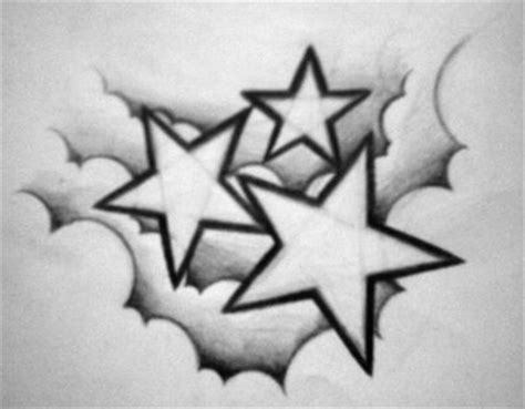 cloud and star tattoo designs design by willemxsm on deviantart